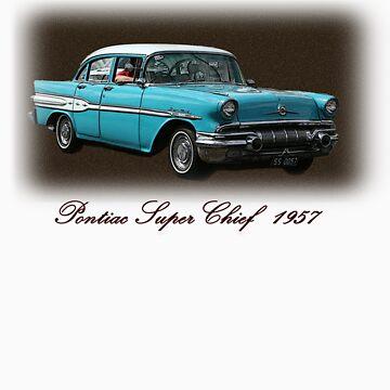 Pontiac Super Chief 1957 by KellyJo
