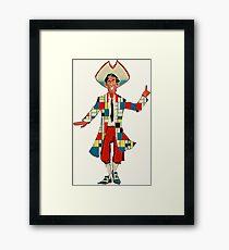 Mondrian's Stan (Monkey Island) Framed Print
