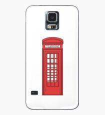 British Telephone Box Case/Skin for Samsung Galaxy