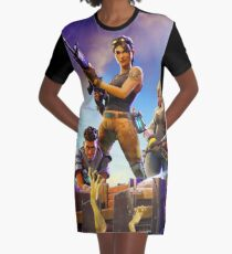 Fortnite Poster Graphic T-Shirt Dress