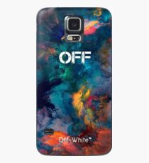 Galaxy Smoke Color Off White Case/Skin for Samsung Galaxy