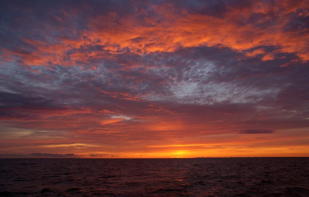North Sea Sunrise by Gumph