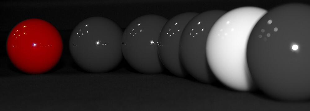 Red Ball by Jurgen  Schulz