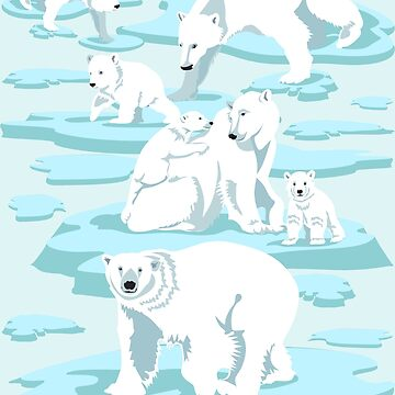 Polar Bears by BessoChicca