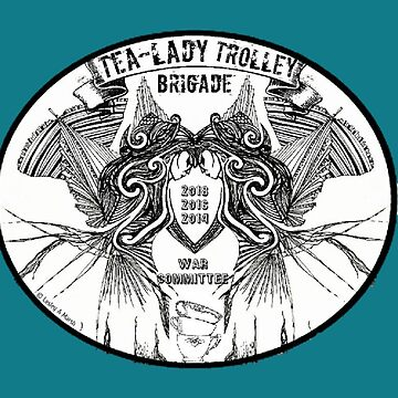 Tea Lady Trolley Brigade WAR [Worn Art Revamped]  by LAMaihi
