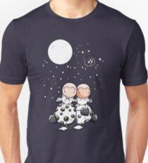 Romantic Cows - Cow - Star - Love - Comic - Gift Unisex T-Shirt