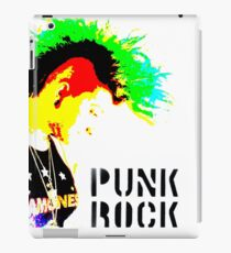 Punk Rock Mohawk iPad Case/Skin
