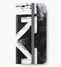 OFF WHITE Galaxy Brushed iPhone Wallet/Case/Skin
