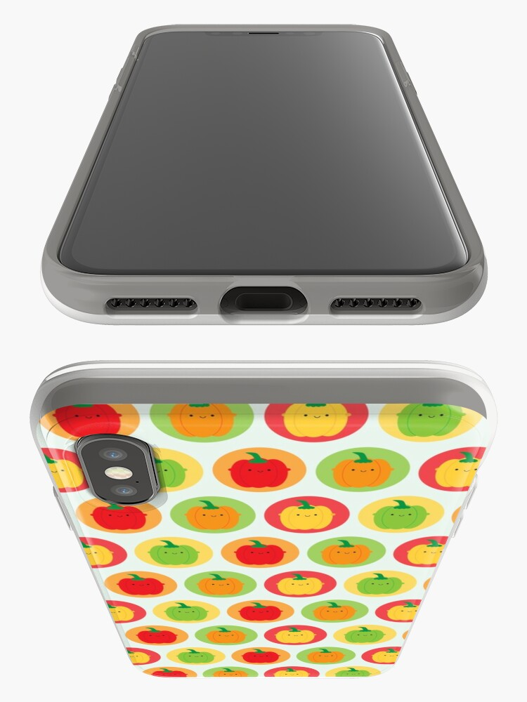 Alternate view of Kawaii Bell Peppers iPhone Case & Cover