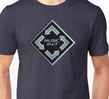 Metal Music 24/7  Unisex T-Shirt