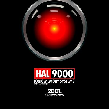HAL 9000 - Kubrick by AkiraFussion