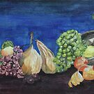 Still life with fruit by Estelle O'Brien