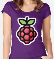 Raspberry Women's Fitted Scoop T-Shirt