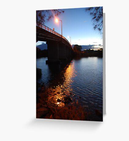 Dumaresque Bridge Greeting Card