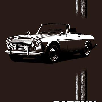 Datsun Fairlady 1967 - Stripe by DatsunStyle