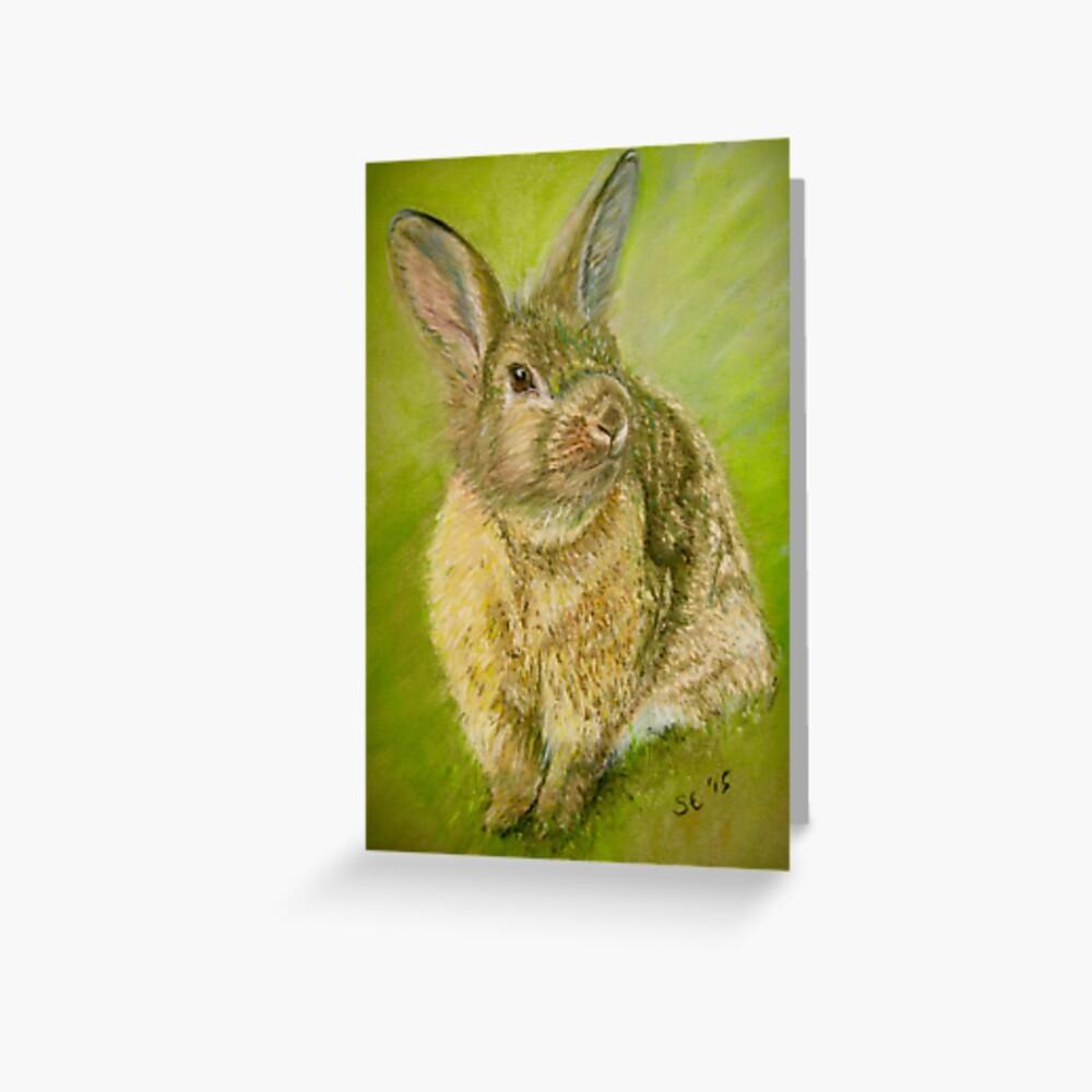 Sunny Bunny  Greeting Card