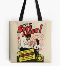 """""""Carrie"""" Homage Poster Tote Bag"""