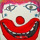 My Happy Clown by Zoe Thomas Age 7 by Julia  Thomas