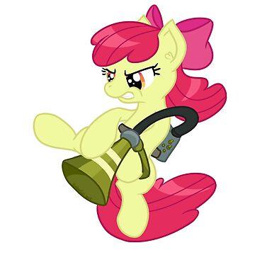 Pest control pony! by Emberfall0507