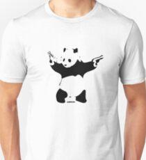 Banksy - Panda Slim Fit T-Shirt