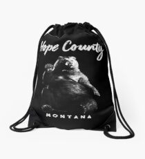 Hope County - Cheeseburger Drawstring Bag