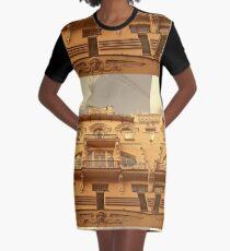 Beautiful Art Nouveau in Riga, Latvia Graphic T-Shirt Dress