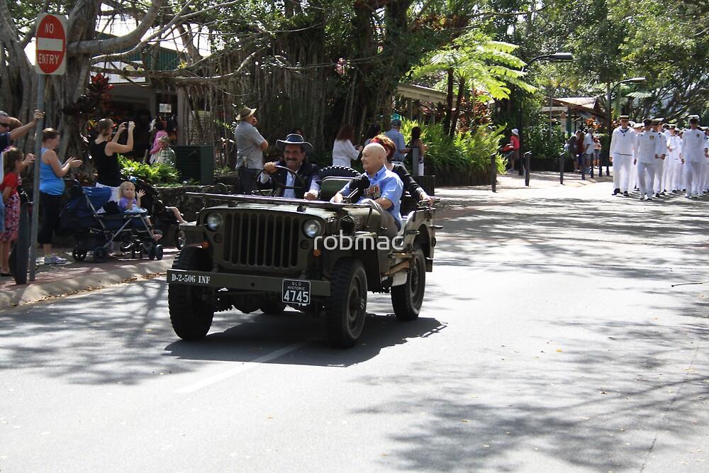 Anzac day parade Kuranda by robmac