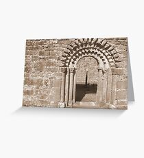 Dysert O Dea arch Greeting Card