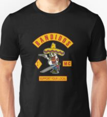 Bandidos Support Your Local  Unisex T-Shirt