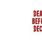 «Muerte antes de Decaf» de AngryMongo