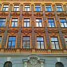 Riga Art Nouveau Architecture by TalBright