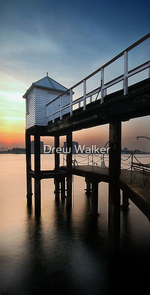 Portsmouth Pier by Drew Walker