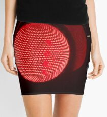 Red traffic light Mini Skirt