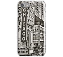 Old Theatre Sign in Chicago iPhone Case/Skin