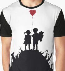 Banksy - KIDS ON GUNS Graphic T-Shirt