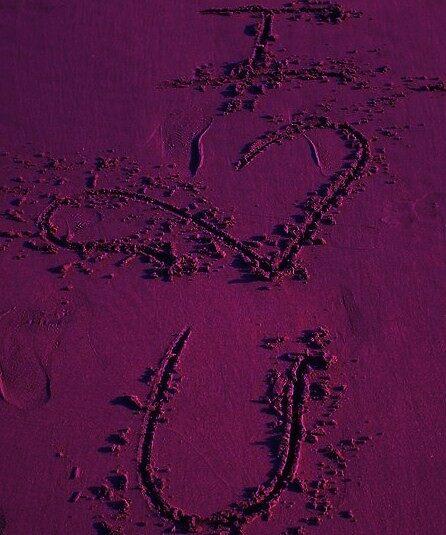 prurple love  by keri  youngblood