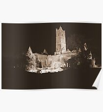 Quin Abbey Poster