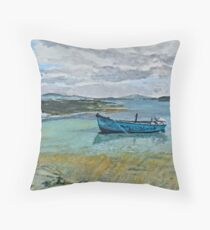 View from Carbery Island Throw Pillow