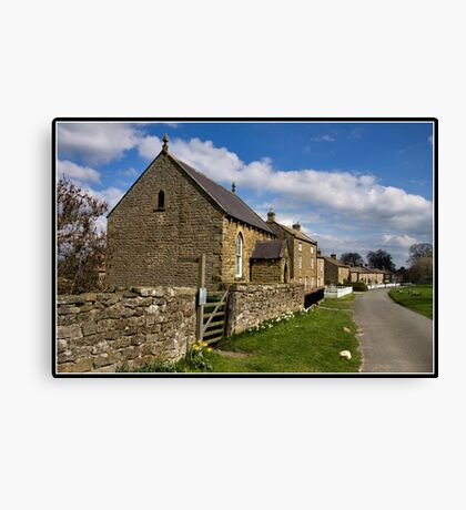 East Witton Canvas Print