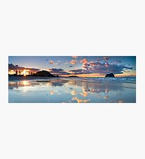 Tay Street ~ Low Tide Blush Photographic Print