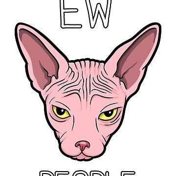 Ew. People. Sphynx Cat. by spectralstories
