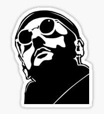 Jean Reno Leon Sticker
