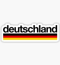 Deutschland Germany Flag - German Germany Berlin Sticker