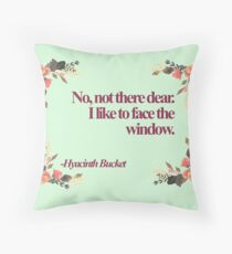 Hyacinth Bucket Quotes  Throw Pillow