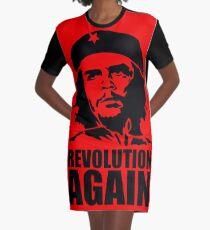 Che Guevara Revolution The Revolutionary of the Last Century Graphic T-Shirt Dress