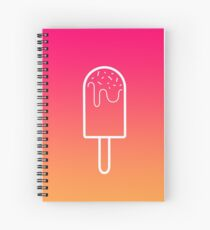 Appetizing ice cream ! Spiral Notebook