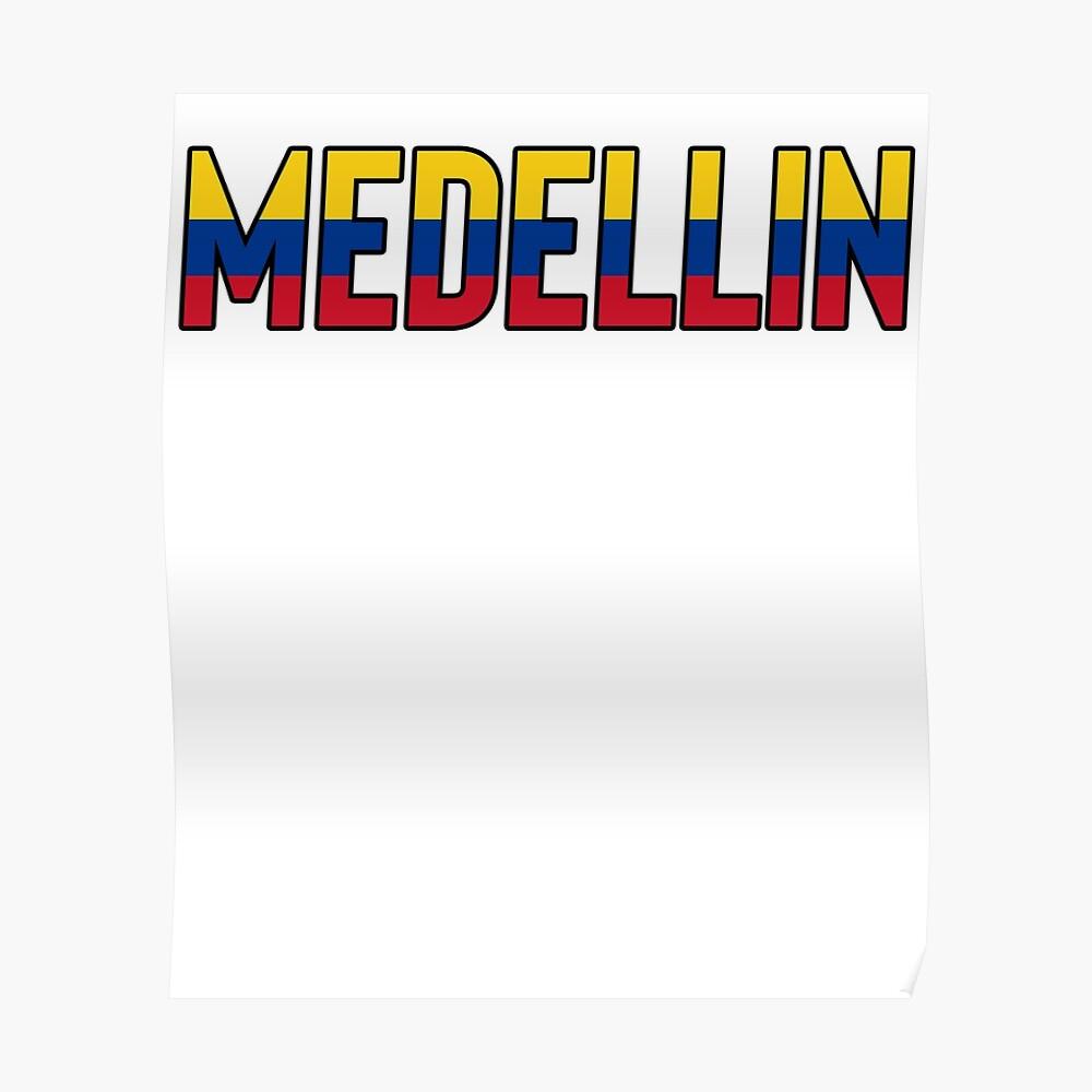 Medellin Kolumbien / Kolumbianisches Kolumbien Bogota Poster