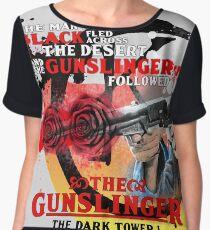 'The Dark Tower' - Roland Deschain 'The Gunslinger Followed' v1 Chiffon Top