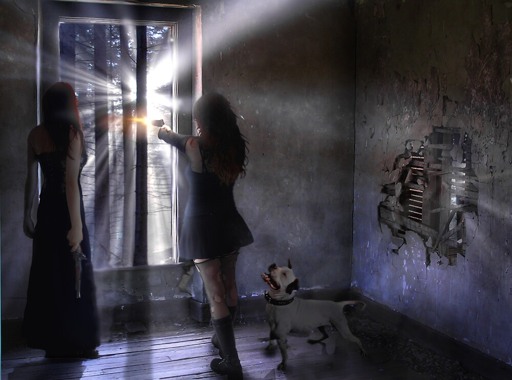 Guns & Dog by Cliff Vestergaard