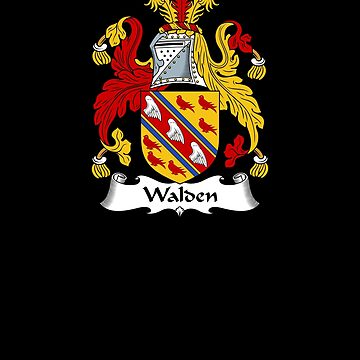 Walden Coat of Arms - Family Crest Shirt by FamilyCrest